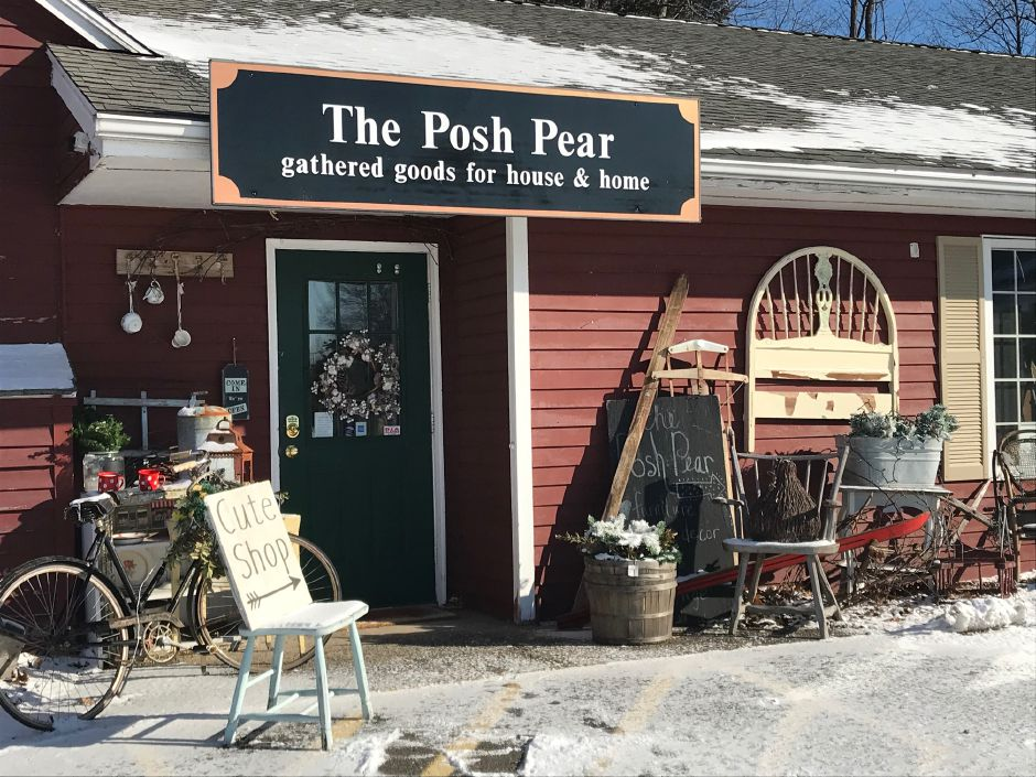 The Posh Pear is located at 830 S. Main St., in Cheshire.