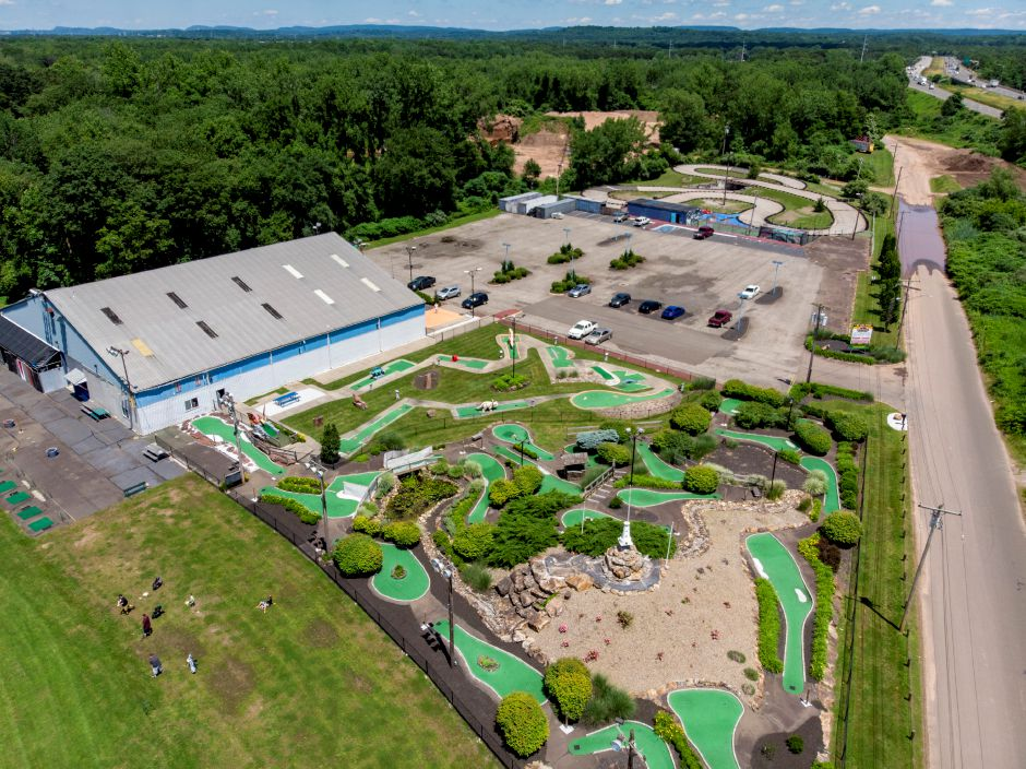 The Only Game in Town on Valley Service Road in North Haven features a driving range, mini-golf, go-karts and an arcade. | Richie Rathsack, Record-Journal