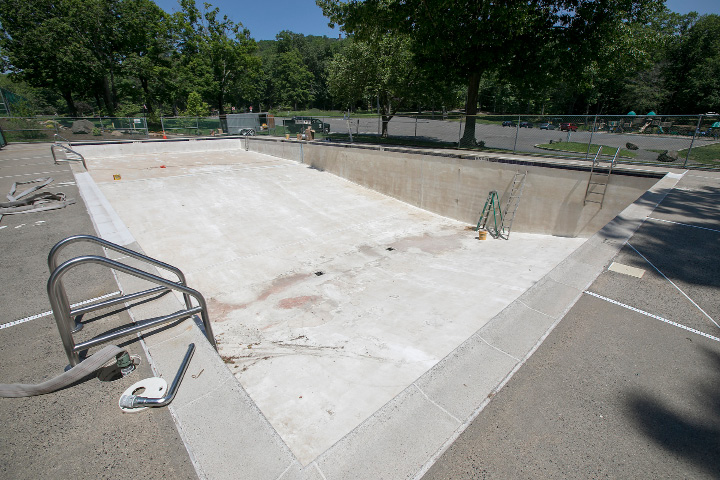 Meriden Due To Recent Repairs To The Hubbard Park Pool It