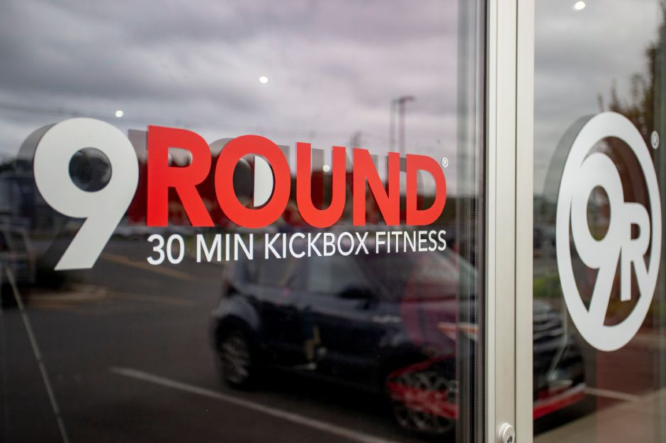 The storefront of the 9Round Fitness at 665 N. Colony Road in Wallingford Sept. 24, 2018. | Richie Rathsack, Record-Journal