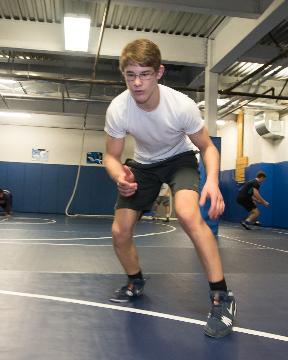 Southington's Paul Calo (36-9), second in Class LL and fifth in the Open as a freshman last year at 126 pounds, leaps all the way up to 160 this year. | Justin Weekes, Special to the Record-Journal