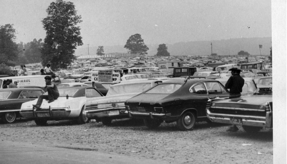 Powder Ridge music festival, 1970.
