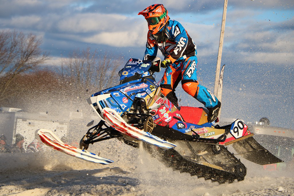 Wallingford's Cody Paolella will be competing in this weekend's East Coast Snocross Series event at Mount Southington. | Photo courtesy of Cody Paolella