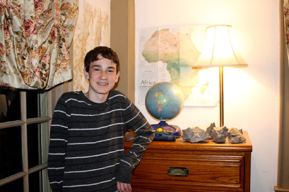 After winning the Connecticut Geography Bee, eighth-grader William Foster of Durham will soon compete in the National Geography Bee in Washington D.C. | Mark Dionne, Town Times