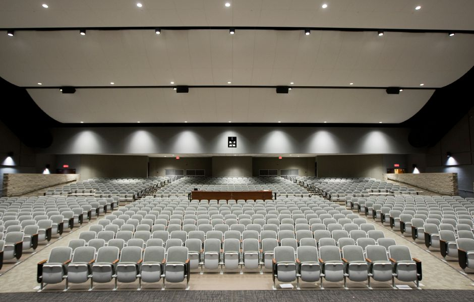 The new auditorium at Maloney High School, Monday, August 29, 2016. | Dave Zajac, Record-Journal