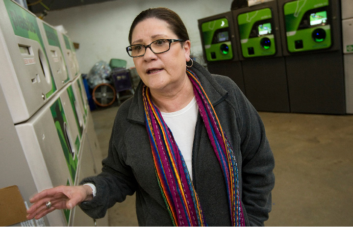 Amanda Pianka, co-owner of the shuttered M&M Redemption Center in Wallingford.  | File photo, Record-Journal