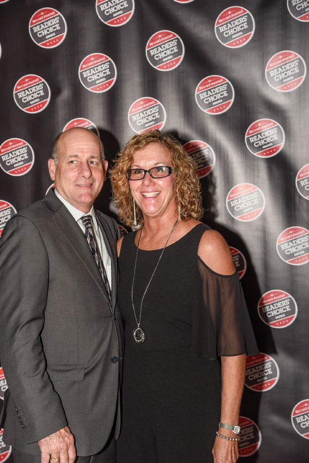 On the red carpet at the Record-Journal Readers Choice Awards event at the Aqua Turf in Southington Oct. 10, 2018.