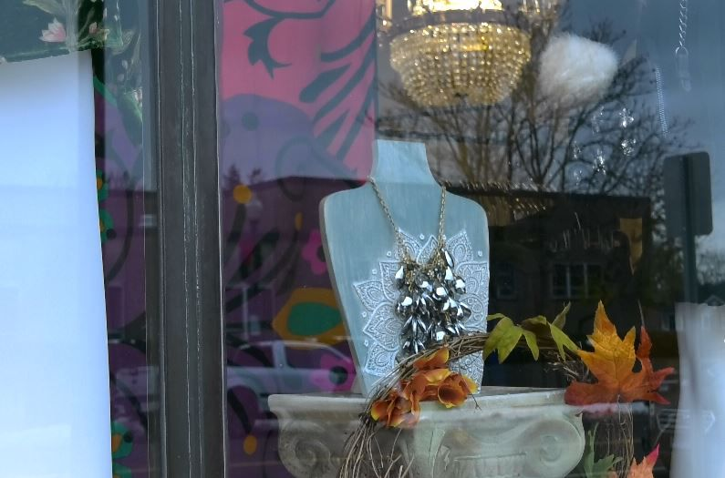 The Dressing Room will be decorating soon for the annual Wallingford Holiday Window and Porch Display Contest. |Ashley Kus, Record-Journal