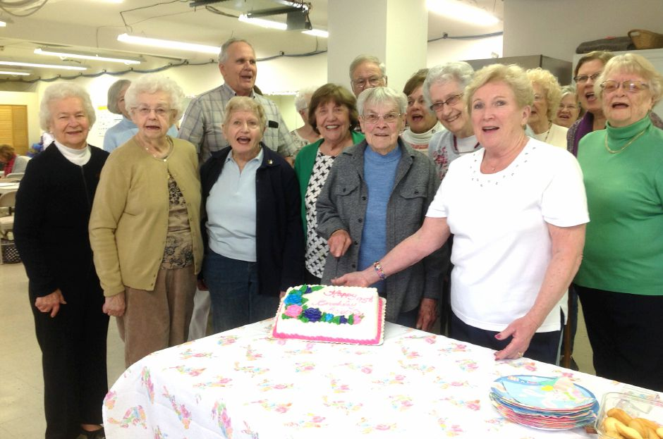 The Durham 60 Plus Club and Travel recently celebrated Roberta Mather