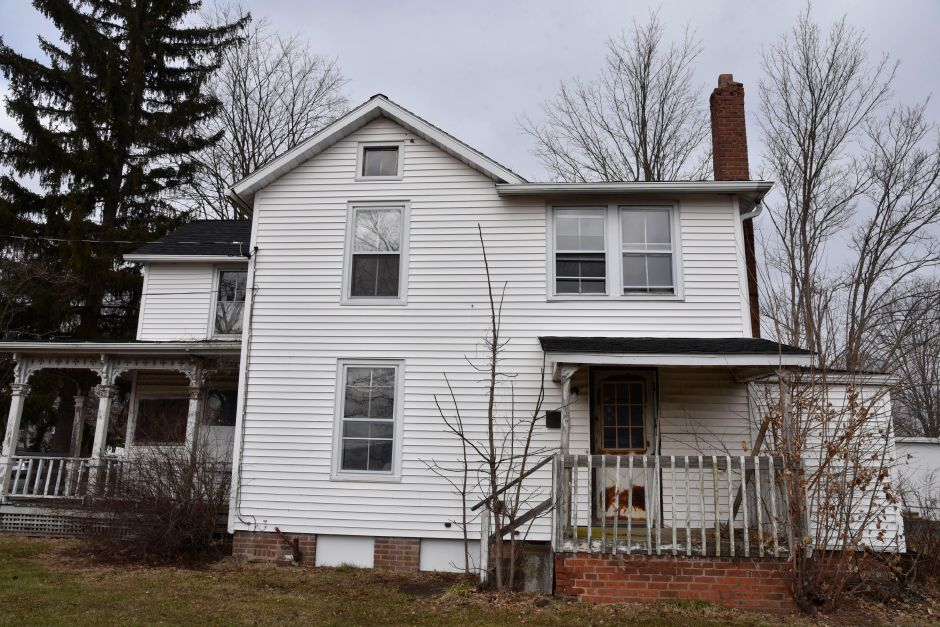 A vacant residential home built in the 1800s on 51 Main St., Durham, photographed on Friday, Jan. 18, 2019. The town is considering a proposal that would create a public safety complex around the current firehouse at 41 Main St., that would include two neighboring parcels. | Bailey Wright, Record-Journal
