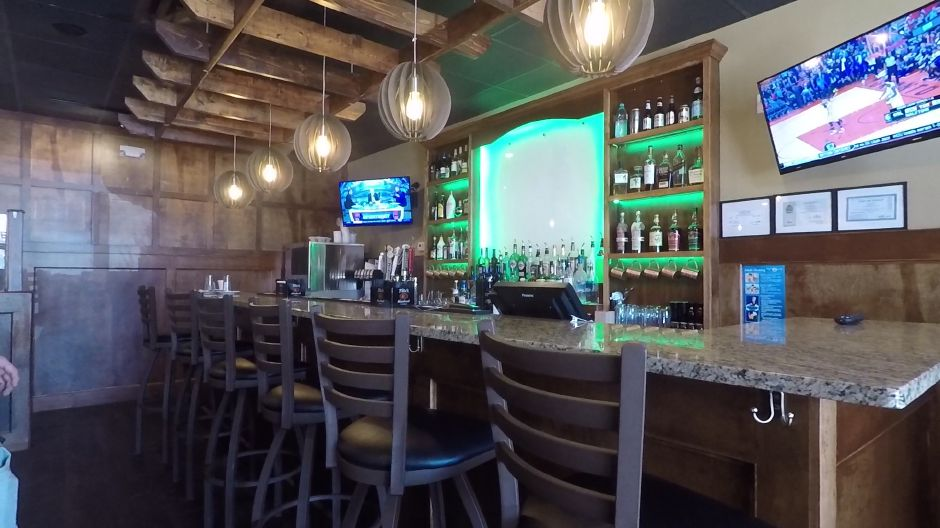 The bar area at FunJu Noodle Bar, 20 Ives Rd., Wallingford. | Ashley Kus, Record-Journal