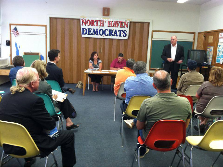 "The North Haven Democratic Town Committee will hold the first of a monthly workshop series on political engagement and activism, ""Activism Academy,"" on Saturday, April 1. The workshops are free and open to the public."