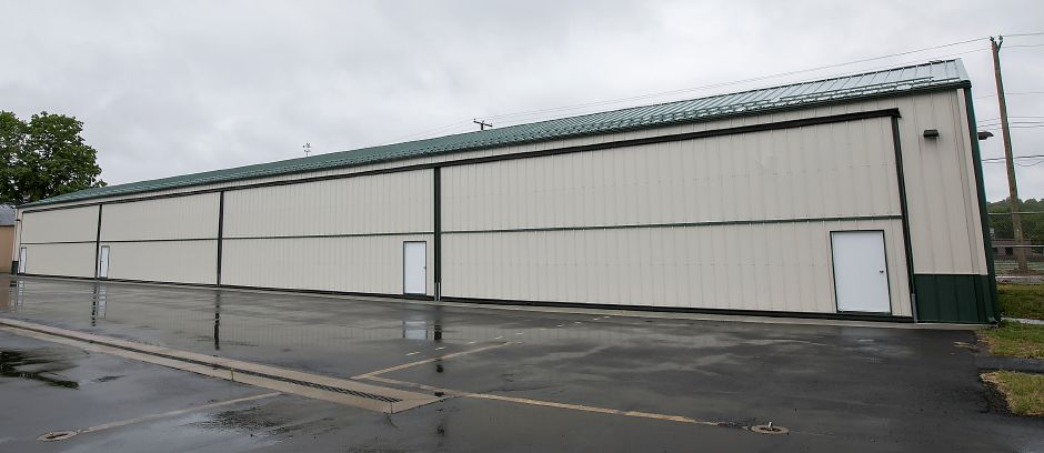 New hangars at Meriden Markham Airport, Monday, May 22, 2017. Construction could begin in upcoming weeks on new taxilanes which will connect the main runway to 16 new hangars to be constructed early next year. | Dave Zajac, Record-Journal