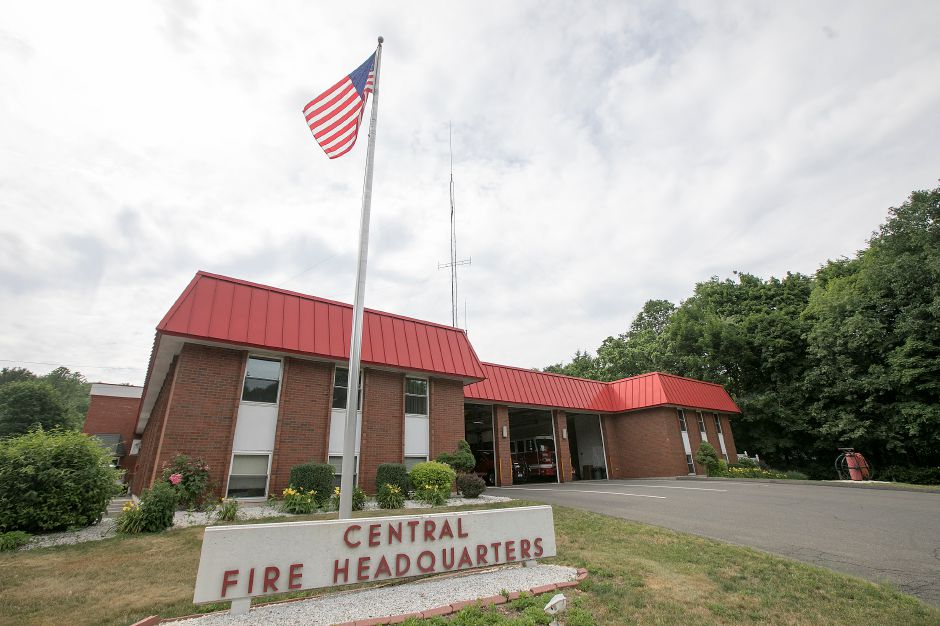 Central Fire Headquarters in Wallingford, Friday, June 22, 2018. Dave Zajac, Record-Journal