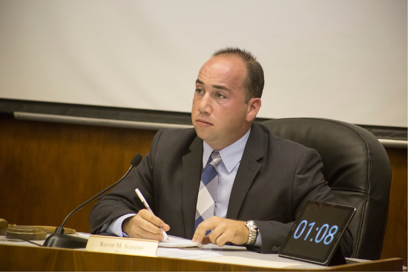 FILE PHOTO: Meriden Mayor Kevin Scarpati | Richie Rathsack, Record-Journal