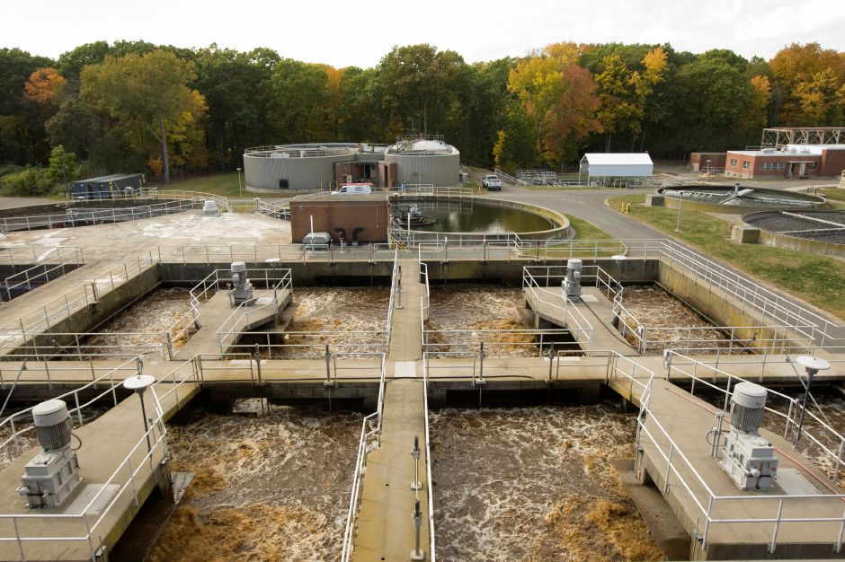 The Water Pollution Control facility in Southington, Monday, October 17, 2016. | Dave Zajac, Record-Journal