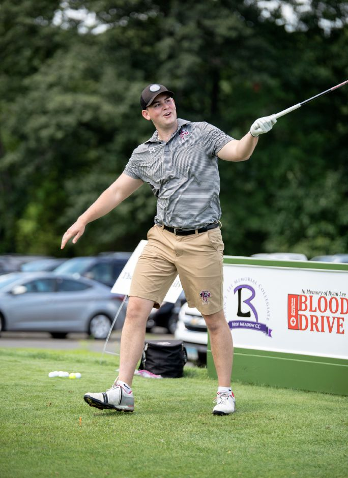 Tom Arisco launches a drive at the the Ryan T. Lee Memorial Foundation