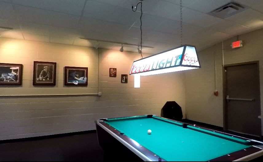 A party room at Yale Billiards' new location at 169 N Plains Industrial Rd, Wallingford. |Ashley Kus, Record-Journal