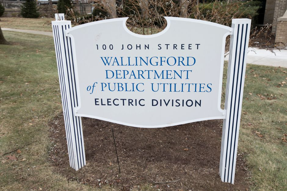 The Wallingford Department of Public Utilities Electric Division on John Street, Tuesday, Jan. 16, 2018. Dave Zajac, Record-Journal