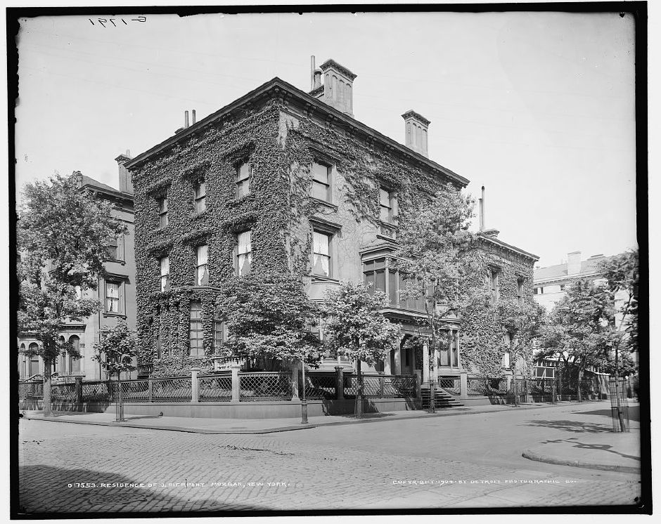 Home of J.P. Morgan. | Courtesy Library of Congress.