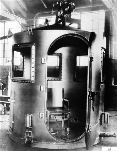 The gas chamber in which Wyoming