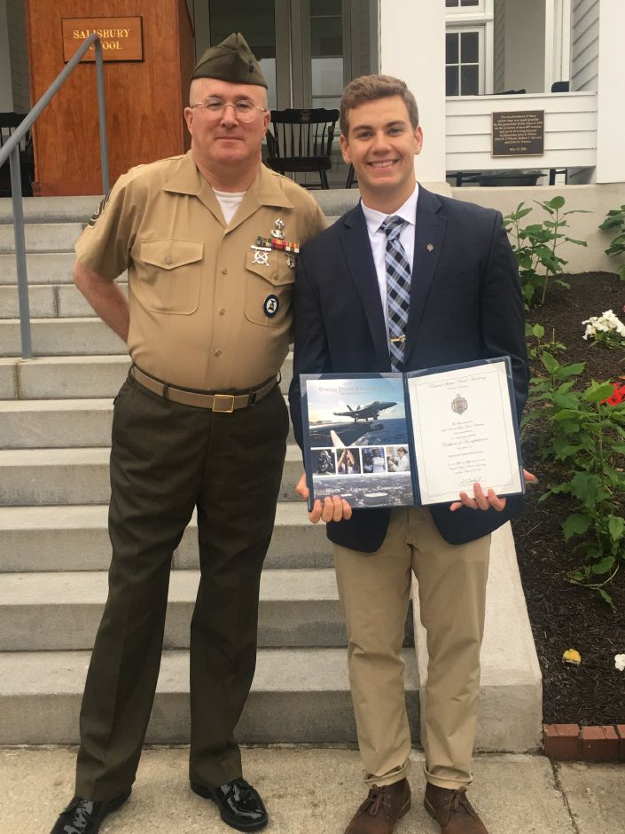Wallingford resident starts at U S  Naval Academy