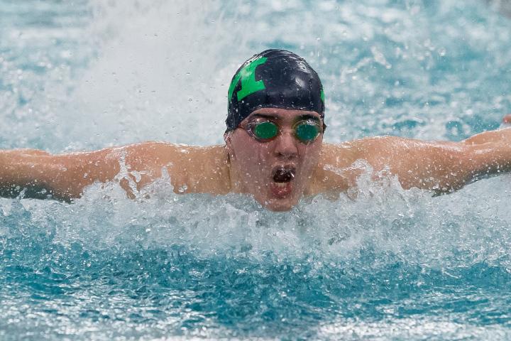 Meriden The Meriden Co Op Boys Swimming Team Capped The Regular Season