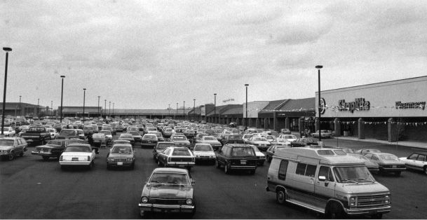 File photo - Townline Square shopping plaza, May 3, 1989.