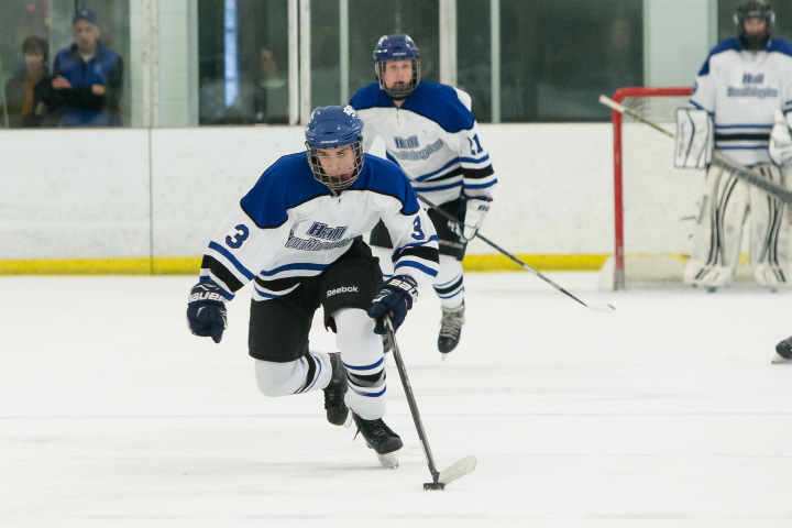 Senior captain Jeremy Fortin and the Hall-Southington hockey team is heading to the Division III state semifinals after beating Housatonic-Northwestern 6-1 Thursday at the Danbury Ice Arena in the quarterfinals. It