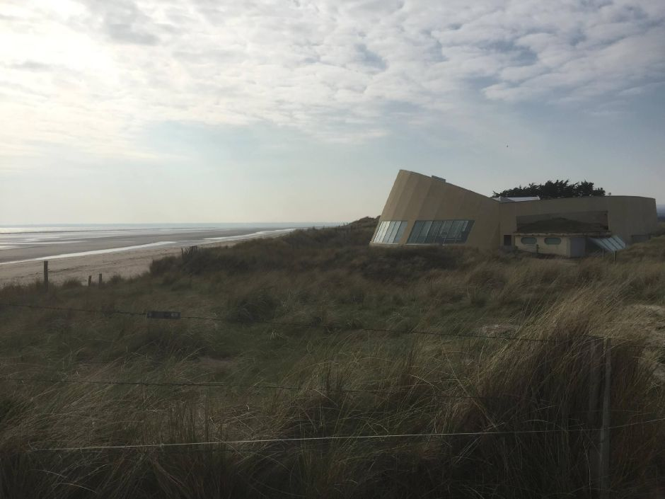 The Utah Beach museum, visited by Boy Scout Troop 270 of Durham in April. | Photo courtesy of Don Poggio