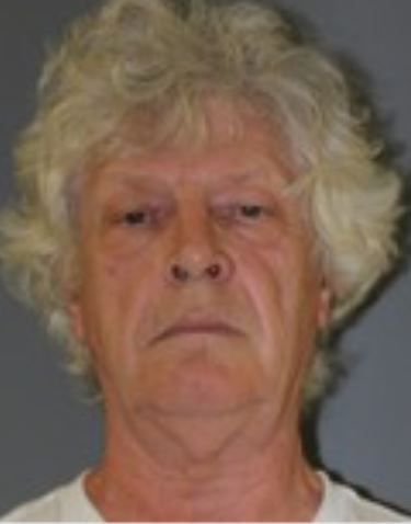 Ricki Nadeau, 67, of 43 Allen Drive, Meriden, faces charges of public indecency and disorderly conduct. Photo courtesy of the Wallingford Police Department.