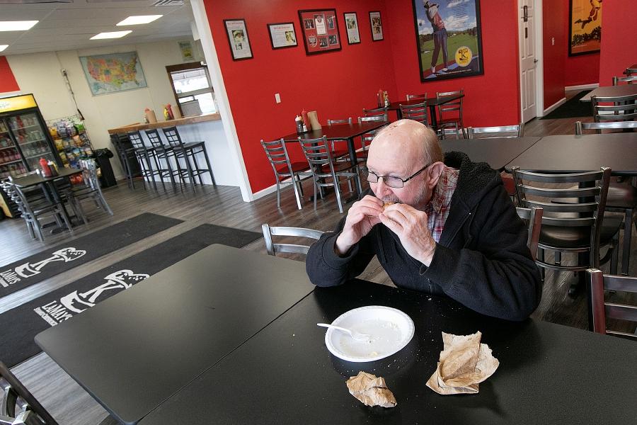 The newly expanded K. LaMay's Steamed Cheeseburgers, 690 E. Main St., in Meriden, Wed., Feb. 20, 2019. Dave Zajac, Record-Journal