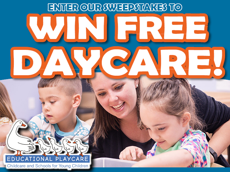 ENTER TO WIN FREE DAYCARE!