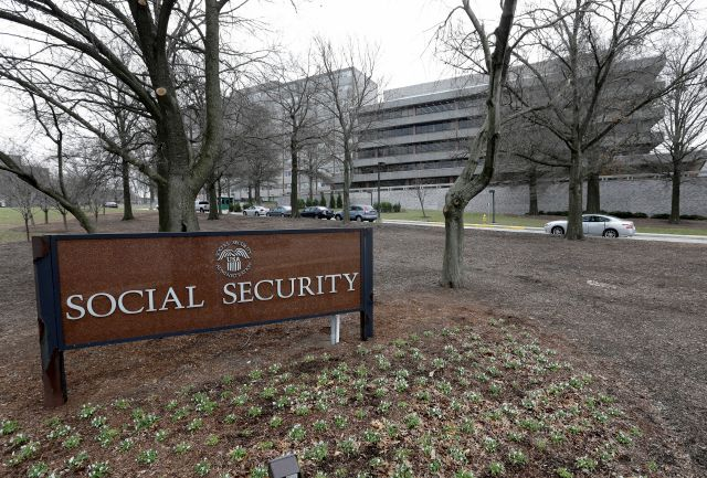FILE - In this Jan. 11, 2013 file photo, the Social Security Administration