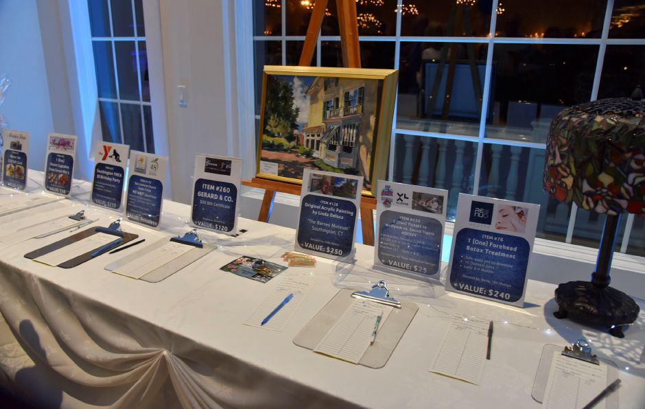 "The Southington Community YMCA hosted their 15th annual ""Forever in Blue Jeans"" gala Friday night at the Aqua Turf. The event featured live and silent auctions and an award presentation to newly retired town manager Garry Brumback. 