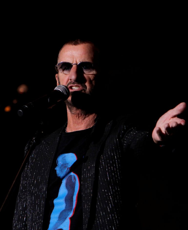 Ringo Starr And His All Starr Band, Sept. 15, Oakdale Theatre, Wallingford.