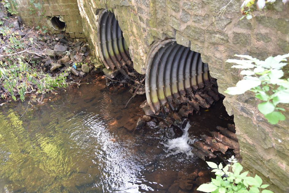Culverts on Indian Lane over Parmelee Brook seen on Aug. 29. | Bailey Wright, Town Times