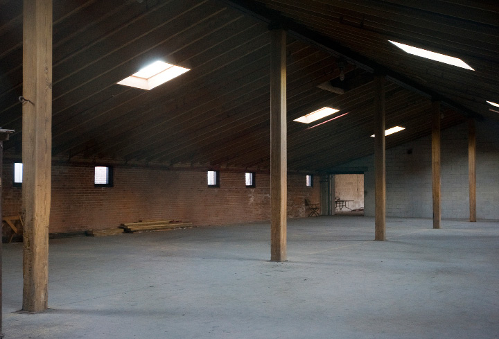 Future site of Kinsmen Brewing Co. in the former Clark Bros. bolt factory at 409 Canal St. in Southington, Thursday, Jan. 7, 2016. Two Pennsylvania natives plan to open the brewery this summer, offering Irish and Scottish-themed drinks.  |  Dave Zajac / Record-Journal