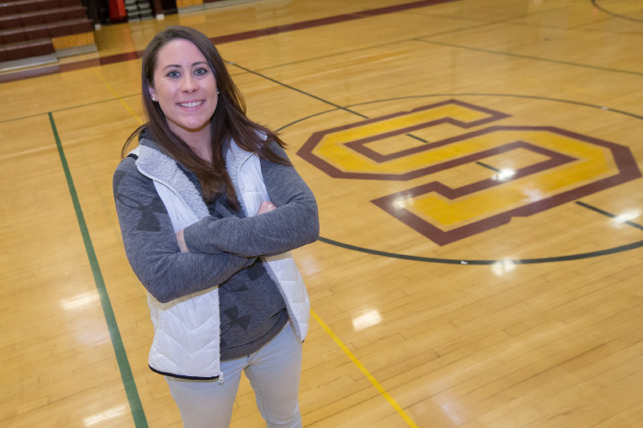 Former Amity assistant coach Sarah Wyant takes over the head coaching reins at Sheehan. | Justin Weekes, Special to the Record-Journal