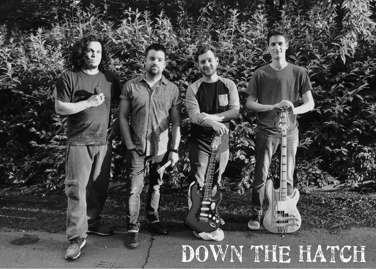 Down The Hatch will be playing at the Meriden Green on July 22. | Photo courtesy of Down The Hatch.