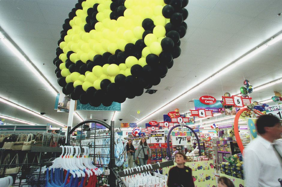 4. Walmart plaza, 235 Queen St. generated 32 police calls in the previous fiscal year. Under a proposed ordinance, owners of the plaza would be charged $250 for each call over 25 per year. In this file photo, Walmart shoppers are welcomed by the signature yellow and black smiley face during the store's grand opening in 2000.