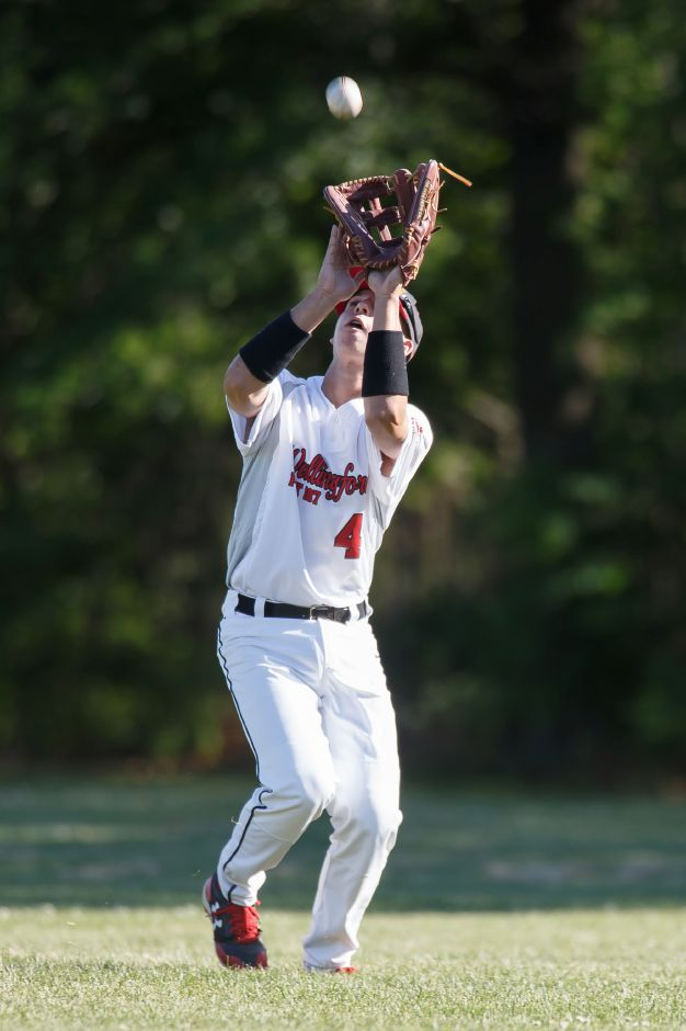 The 2019 American Legion baseball season came to a close Wednesday in Trumbull for Tyler Lyons and Wallingford Post 187. The Cardinals fell to Trumbull 3-2 in 11 innings in a Pod H elimination game. | Justin Weekes / Special to the Record-Journal