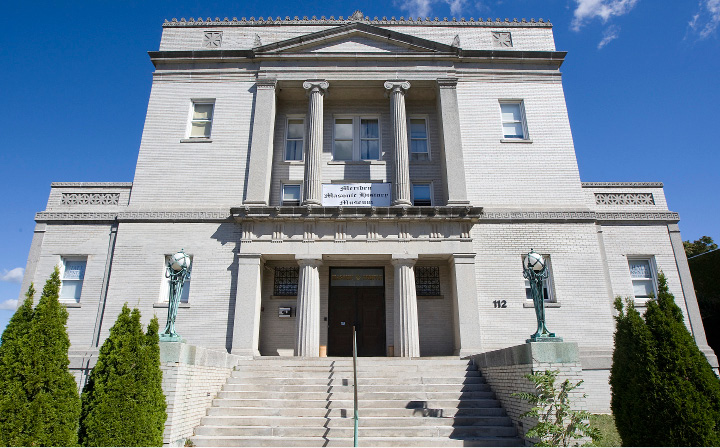 MERIDEN — The Masonic temple on East Main Street is listed for