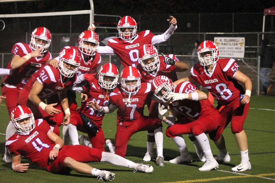 On Senior Night, the BHS football team rolled over Rocky Hill, 43-0, to improve to 9-0.