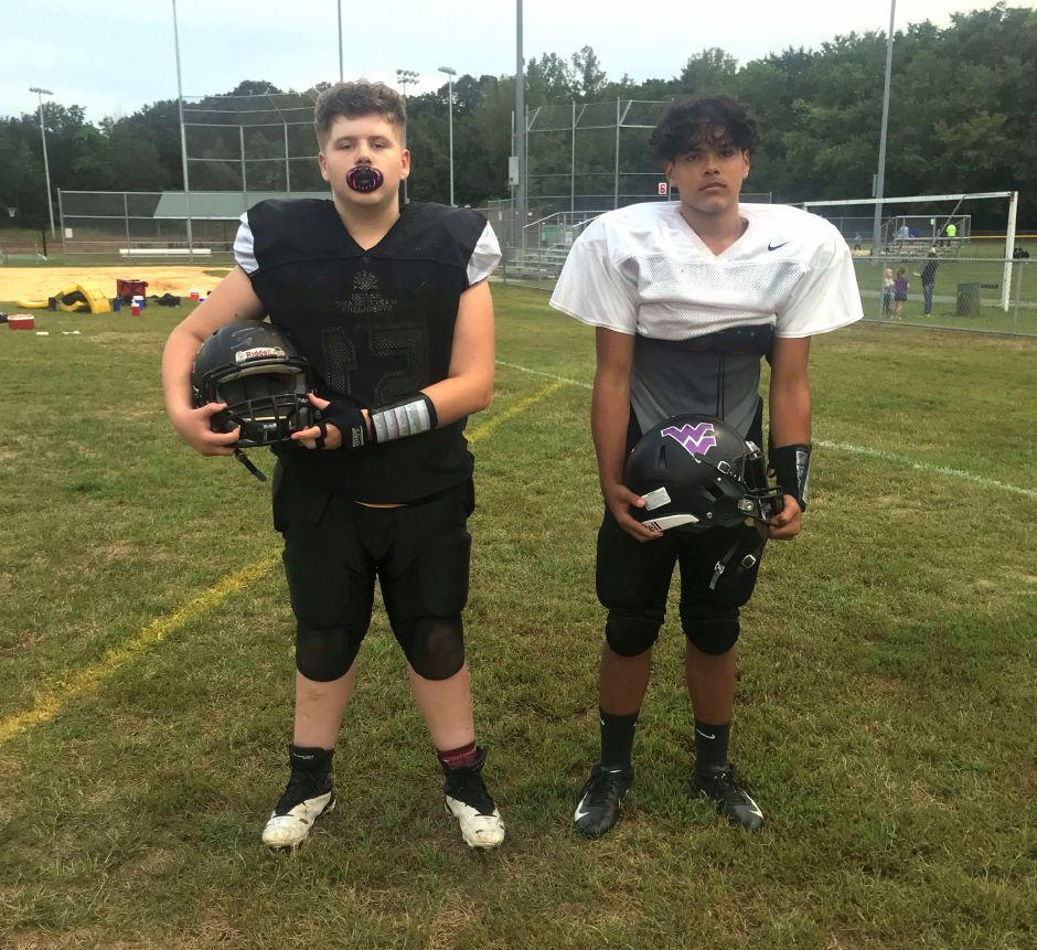 8th grade: John LeClerc/Offense/Moran and Christian Roman/Defense/DAG
