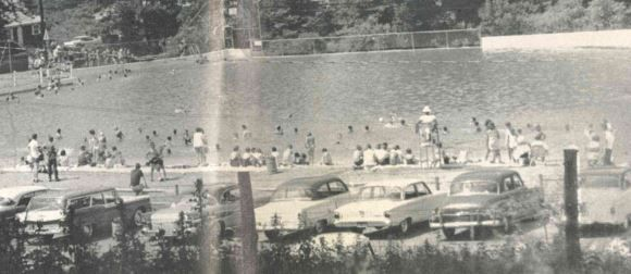 The Wallingford Community Pool, irca 1958.