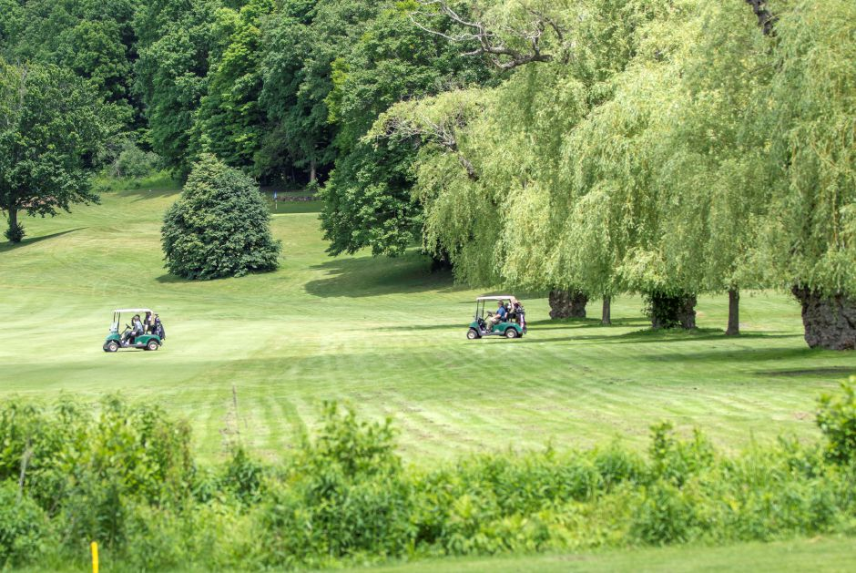 It was a beautiful day to play some golf at Hunter Golf Club which played host to the 31st Annual Ray Parmentier Classic Golf Tournament in Meriden on June 6, 2018 | Andrew Baxter, Special to the Record-Journal