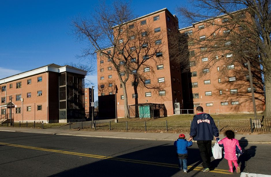 The Mills Memorial Apartments in Meriden, Monday, February 22, 2016. | Dave Zajac / Record-Journal