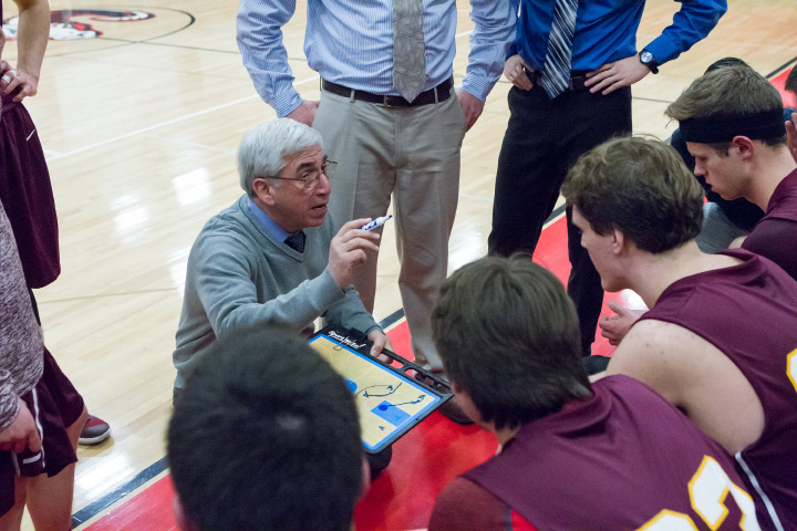 Joe Gaetano, who has coached Sheehan for 22 years, has a fundamental view on how fortunes can turn around rapidly and decisively.| Justin Weekes / Special to the Record-Journal