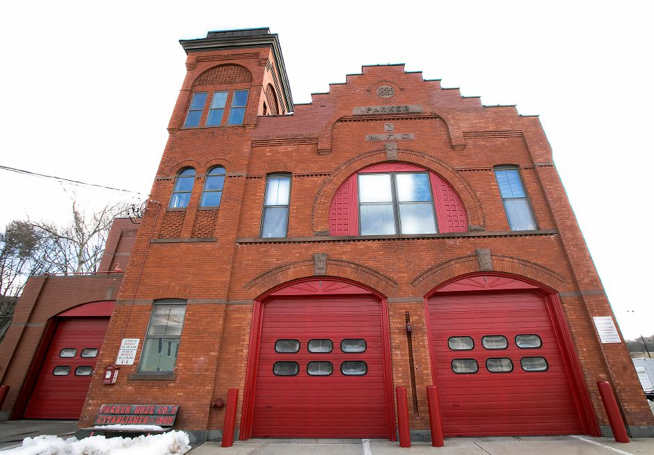 Fire headquarters on Broad Street in Meriden, Friday, March 16, 2018. The city plans to conduct a second wave of LED light conversions in partnership with Eversource Energy at three fire stations and two municipal buildings. Dave Zajac, Record-Journal